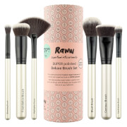 RAWW Super Polished 6 Piece Brush Set - Pink (Worth $100)