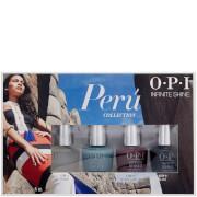 OPI Peru Infinite Shine Mini-Pack Nail Varnish