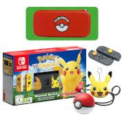 Nintendo Switch Pokémon: Let's Go, Pikachu! Edition Pack