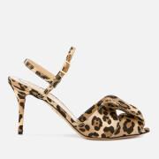 Charlotte Olympia Women's Satin Sandals - Leopard