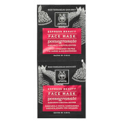APIVITA Express Radiance Face Mask - Pomegranate 2x8ml