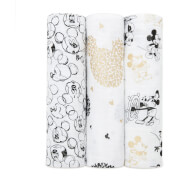 aden + anais Classic Swaddles 3-Pack Mickey's 90th
