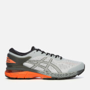 Asics Men's Running Gel-Kayano 25 Trainers - Mid Grey/Red Snapper
