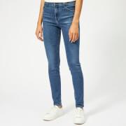 J Brand Women's Maria High Rise Skinny Jeans - Earthy