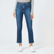 J Brand Women's Ruby High Rise Crop Cigarette Jeans - Archer