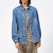 Ganni Women's Blackstone Jacket - Medium Dark Denim