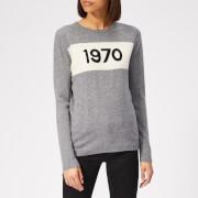Bella Freud Women's 1970 Cashmere Jumper - Grey Marl