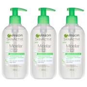 Garnier Micellar Gel Face Wash Combination Skin 200ml (3 Pack)
