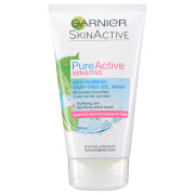 Garnier Pure Active Anti Blemish Soap Free Gel Wash Sensitive Skin 150ml