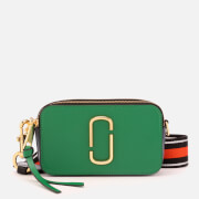 Marc Jacobs Women's Snapshot Cross Body Bag - Pepper Green Multi