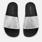 McQ Alexander McQueen Women's Chrissie Slide Sandals - Silver