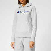 Champion Women's Hooded Sweatshirt - Grey Marl