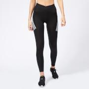 adidas Women's Alphaskin Sport 3 Stripes Tights - Black