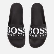 BOSS Men's Solar Slide Sandals - Black