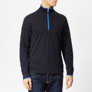 PS Paul Smith Men's Zip Neck Sweatshirt - Dark Navy