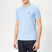 KENZO Men's Tipped Polo Shirt - Sky Blue