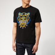 KENZO Men's Icon Neon T-Shirt - Black