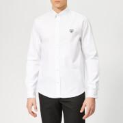 KENZO Men's Tiger Logo Shirt - White