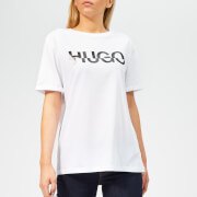 HUGO Women's Denalisa Logo T-Shirt - White