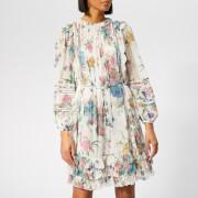 Zimmermann Women's Ninety-Six Linear Mini Dress - Cream Blossom