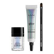 NYX Professional Makeup Glitter Eye Kit (Worth £24.00)