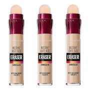 Maybelline Eraser Eye Concealer Light x 3 (Worth £26.97)