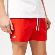 Lacoste Men's Classic Swim Shorts - Red