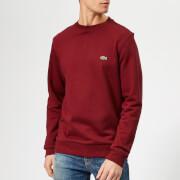 Lacoste Men's Classic Embossed Logo Crew Sweatshirt - Pinot