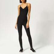 The Upside Women's Matte Black Catsuit - Black