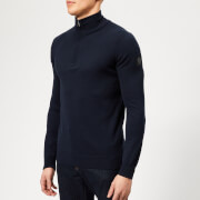 Belstaff Men's Bay 1/4 Zip Knit Jumper - Deep Navy