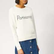 Maison Kitsuné Women's Parisienne Sweatshirt - Latte