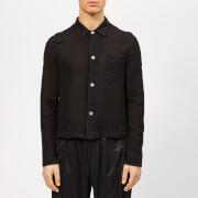 Our Legacy Men's Shrunken Shirt - Black Cloth