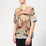 Our Legacy Men's Linen Box Shirt - Acid Landscape