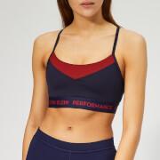 Calvin Klein Performance Women's Adjustable Sports Bra - Evening Blue