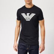 Emporio Armani Men's Large Eagle Logo T-Shirt - Navy