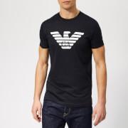 Emporio Armani Men's Large Eagle Logo T-Shirt - Navy