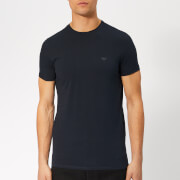 Emporio Armani Men's Small Logo T-Shirt - Navy
