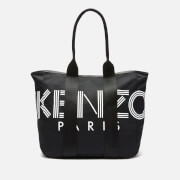 KENZO Women's Large Nylon Paris Logo Tote Bag - Black