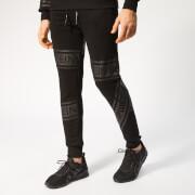 Plein Sport Men's Tape Stripes Jogging Trousers - Black