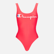 Champion Women's Reversible Swimsuit - Pink