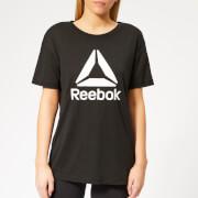 Reebok Women's WOR Supremium 2.0 Short Sleeve T-Shirt - Black