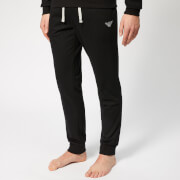 Emporio Armani Men's Cuffed Pants - Black