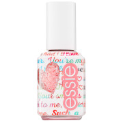 essie Galentines Valentine Collection 598 Galentine Pink Glitter Top Coat 13.5ml