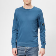 C.P. Company Men's Crew Neck Sweatshirt - Moroccan Blue