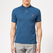 Polo Ralph Lauren Men's Basic Pique Slim Fit Polo Shirt - Medium Indigo