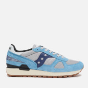 Saucony Men's Shadow Original Vintage Trainers - Blue/Grey/Navy