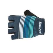 Santini Tour Down Under Event Gloves 2019