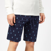 Polo Ralph Lauren Men's All Over Pony Shorts - Cruise Navy