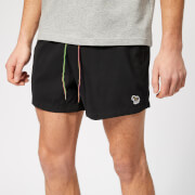 Paul Smith Men's Zebra Swim Shorts - Black