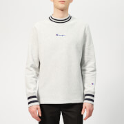 Champion Men's High Neck Sweatshirt - Grey